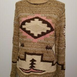 Ralph Lauren tribal crew neck sweater